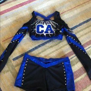 CALIFORNIA ALLSTARS competition uniform
